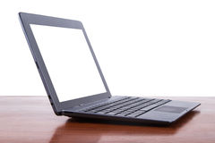 Tablet Laptop with Blank Screen Royalty Free Stock Photos