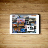 Tablet media technology concept Royalty Free Stock Photography