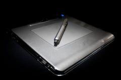 Tablet met naald Royalty-vrije Stock Afbeelding