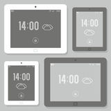 Tablet mockup set Royalty Free Stock Images
