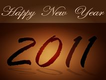 The tablet New Year Stock Photos
