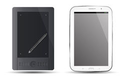 Tablet note Stock Photography