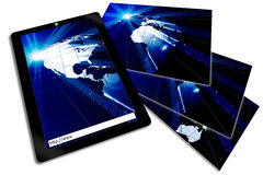 Tablet Notebook PC Royalty Free Stock Photo