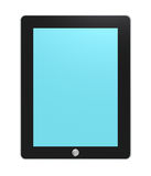 Tablet pad, backlit. Royalty Free Stock Images