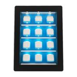 Tablet pad electronic device isolated Royalty Free Stock Photos
