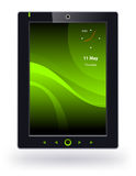 Tablet  pc. Tablet pc on a white background Royalty Free Stock Image