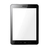 Tablet pc. Illustration of tablet pc on white Royalty Free Stock Image