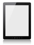 Tablet pc. Blank tablet pc on white background Stock Photo