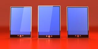 Tablet PC stock de ilustración