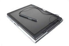 Tablet PC. Laptop - Isolated Royalty Free Stock Photo