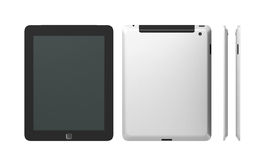 Tablet PC from all sides Stock Photography