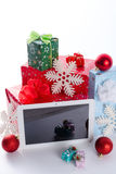 Tablet pc. A tablet pc as the best gift Royalty Free Stock Image