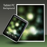 Tablet PC Background Stock Image