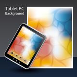 Tablet PC Background Royalty Free Stock Image
