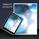 Tablet PC Background Stock Photography