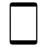 Tablet Pc black Stock Photo