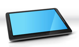 Tablet PC With Blue Screen Royalty Free Stock Photography
