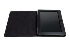 Tablet pc in case Stock Images