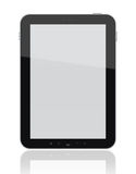 Tablet PC with Clipping Path vector illustration