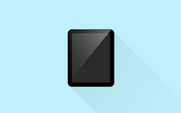 Tablet pc computer with blank black screen Stock Photos