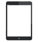 Tablet pc computer with blank screen Royalty Free Stock Photography