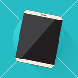 Tablet pc computer icon Stock Photography