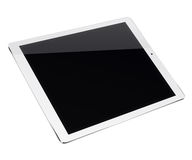 Tablet pc computer isolated on white background. Stock Photos