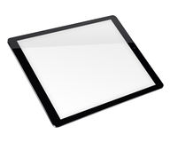 Tablet pc computer isolated on white background. Realistic tablet pc computer with blank screen isolated on white background. 3D illustration Royalty Free Stock Photo