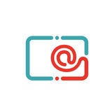 Tablet PC e-mail icon vector illustration. Royalty Free Stock Photography