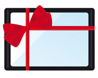 Tablet PC Gift Stock Photography