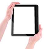 Tablet PC in the hands Royalty Free Stock Images