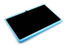 Tablet pc isolated Stock Image