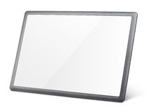 Tablet pc isolated on white Stock Image
