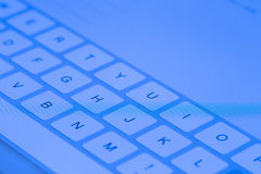 Tablet pc keyboard Royalty Free Stock Image