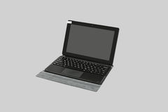Tablet PC and keyboard. Royalty Free Stock Photos