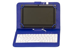 Tablet PC with keyboard Royalty Free Stock Photography