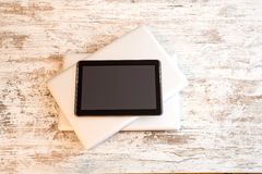 Tablet PC and Laptops Royalty Free Stock Image