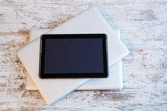 Tablet PC and Laptops Stock Images