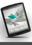 Tablet Pc & Mobile Phone. Royalty Free Stock Image