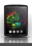 Tablet Pc & Mobile Phone. Royalty Free Stock Photography