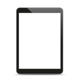 Tablet PC Mockup Royalty Free Stock Photos