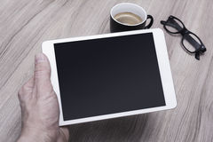 Tablet pc mockup Royalty Free Stock Image