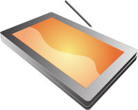 Tablet pc notebook Royalty Free Stock Images