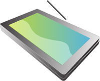 Tablet pc notebook Royalty Free Stock Image