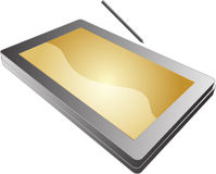 Tablet pc notebook Stock Image