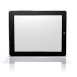 Tablet PC screen side (Clip Path Screen & Object) Royalty Free Stock Images