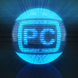 Tablet PC symbol Royalty Free Stock Photos