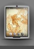 Tablet pc, telefone celular Foto de Stock Royalty Free