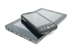 Tablet PC and touch screen phone Royalty Free Stock Image