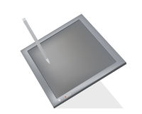 Tablet pc vector isolated Stock Images